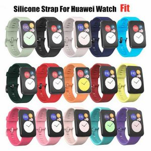 シリコーン  ストラップ  スマート ウォッチ 交換部品 スポーツ リストバンド 時計 バンドhuawei社 腕 時計 フィット スマート okuda-store