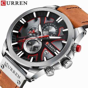 レロジオ Masculino CURREN ファッション 創造クォーツ 時計 男性 日付 は カジュアル ビジネス 腕時計 男性 時計 Mo|okuda-store