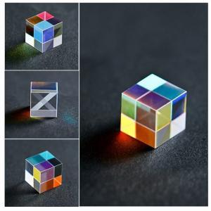 プリズム六面高輝度光結合キューブプリズム家の装飾プリズムガラス光学プリズム虹キューブ子供の科学実験 okuda-store