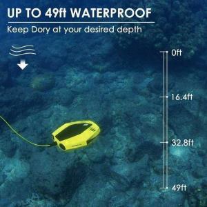 【ケーブルのみ】15メートル追いかけ水中 ドローン テザー ケーブル | 使用追いかけドーリースペアパーツ|okuda-store