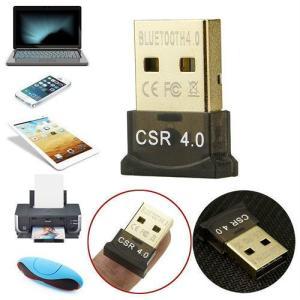 ワイヤレス USB の Bluetooth V 4.0 CSR ミニドングル アダプタ Win7 8 10 PC の MAC ラップトップ okuda-store
