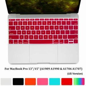 ノートパソコンのキーボード カバー ソフトカラフルなスキン プロテクター フィルムアンチダスト防水最新のmacbook air 13 インチ okuda-store