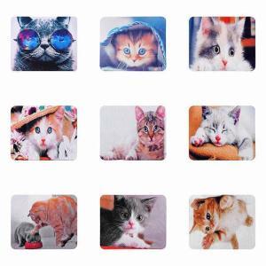 かわいい猫 マウスパッド ゲーミングマウスマットユニバーサル快適なノート Pc 用のオフィスサプライゲーミング マウスパット okuda-store