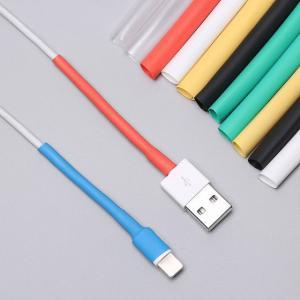 12個のusb 充電 器コードワイヤオー熱収縮チューブスリーブ ケーブル プロテクター チューブセーバー カバー ipadのiphone 5 okuda-store