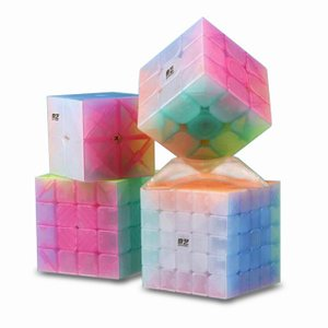QiYi 2 × 2 3 × 3 4 × 4 5 × 5 ゼリー ルービックキューブ デザインスピード ルービックキューブ パズル マジック okuda-store