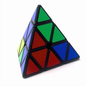 Qiyi ルービックキューブ Mofangge 3 × 3 × 3 ピラミッド マジック ルービックキューブ プロの マジック ルービックキ okuda-store