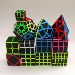 ZCUBE 14 種類カーボンファイバースピード ルービックキューブ マジック ルービックキューブ 立方 パズル おもちゃ 子供 キッズ お okuda-store