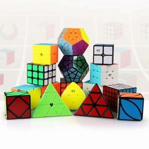 Qiyi Mofangge 4 ピース/セット マジック ルービックキューブ セット 2 × 2 × 2 3 × 3 × 3 4 × 4 × okuda-store