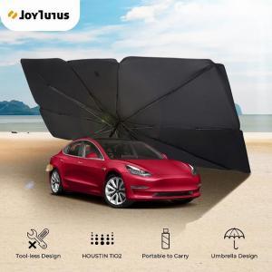 カー サンシェード カバー インテリア テスラ モデル 3 モデル y カー サンシェード 傘 フロント ウィンドウ 安全なハンマー|okuda-store