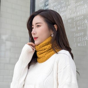 新2020冬 スカーフ 13 スタイル 男女兼用 レディース 女の子 ニット ネックウォーマー サークルラップカウループ スヌード ショール|okuda-store