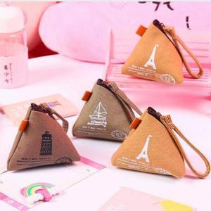 かわいい コイン 財布 財布 キャンバスコイン袋ミニマネー バッグ 男女兼用 ケース 財布 高品質|okuda-store