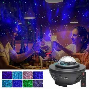 2021新usbはスターナイト ライト 音楽星空水ledプロジェクター ライト bluetoothプロジェクター ライト 装飾 okuda-store