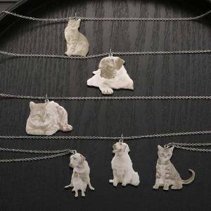 カスタム写真の ネックレス のための犬の所有者パーソナライズ刻ま絵の ネックレス ペットのフォト ペンダント のための恋人の|okuda-store