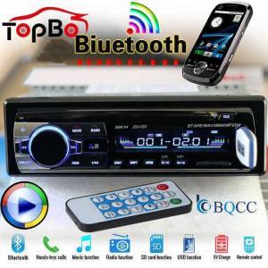 JSD520 12 v カー ラジオ ステレオ fm MP3 オーディオ プレーヤー サポート Bluetooth 電話 と USB /s|okuda-store