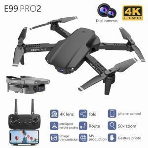 Nyr E99 Pro2 rc ミニ ドローン 4 18k 1080 1080p 720 1080pデュアル カメラ wifi fpv空中 okuda-store