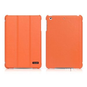 (HAIKAU) iPad mini Retina ディスプレイ / iPad mini 本革 スマートカバー レザーケース ハンドメイド スリープ&スタンド機能付き Leather Case for