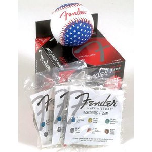 エレキギター弦 Fender USA Fender Strings 3 Pack Baseball|okumuragakki
