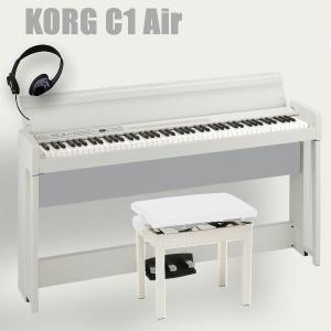 KORG C1 Air  手のすぐ届くところに置いて、気軽に弾ける、それでいて本格派。この C1 A...