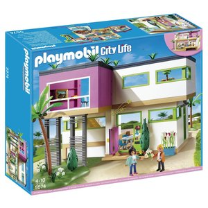 [プレイモービル]PLAYMOBIL PLAYMOBIL Modern Luxury Mansion Play Set 5574 [並行輸入品]
