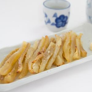 能登の清酒「宗玄」漬け 炙り干し鱈|okunoto-hamano