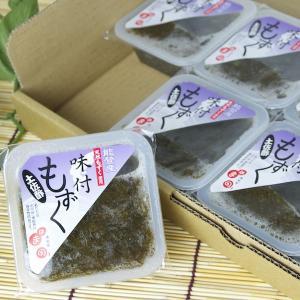 味付もずく 土佐酢 6個セット|okunoto-hamano