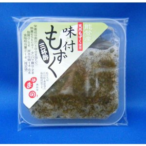 味付もずく 三杯酢|okunoto-hamano