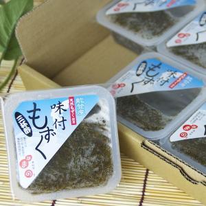 味付もずく 三杯酢 6個セット|okunoto-hamano