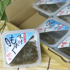 味付もずく 三杯酢 60個セット|okunoto-hamano