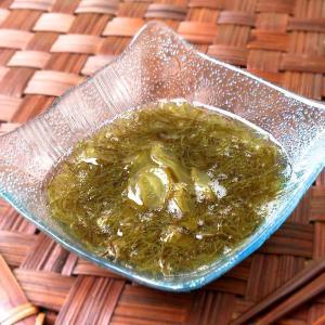 能登産茎わかめ入り味付もずく 6個セット okunoto-hamano