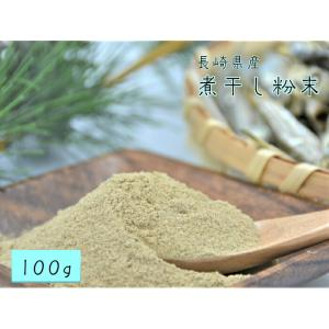 送料無料 メール便 煮干し 粉末 100g 長崎産 煮干 いりこ 粉 パウダー