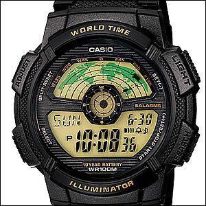 ※箱なし 海外CASIO 海外カシオ 腕時計 輸入品 AE-1100W-1BVDF メンズ スポーツウォッチ