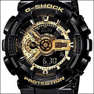 CASIO カシオ 腕時計 GA-110GB-1AJF メンズ G-SHOCK ジーショック Black × Gold Series ブラック×ゴールドシリーズ okurimonoya1