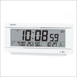 SEIKO セイコー クロック GP501W 目覚まし時計 衛星電波