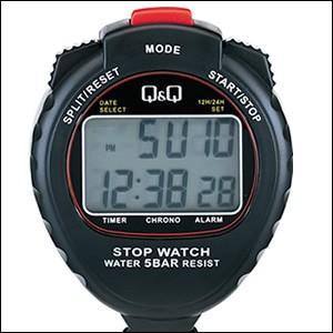 ・ラップタイムとスプリットタイムの計測が可能な1/100秒計測ストップウオッチ。計時機能のほかに、時...