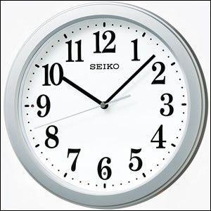 SEIKO セイコー クロック KX379S 掛け時計 電波時計