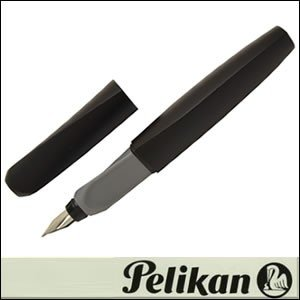 Pelikan ペリカン 筆記具 Twist-BK 万年筆 ツイスト ブラック