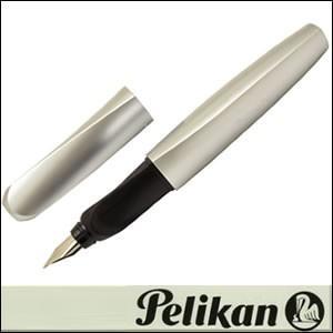 Pelikan ペリカン 筆記具 Twist-SV 万年筆 ツイスト シルバー
