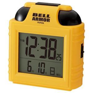 【正規品】NOA ノア精密 クロック T-734 Y-Z 置時計 大音量目覚まし時計 ベルアーマー
