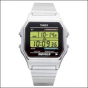 TIMEX タイメックス 腕時計 T78587 男女兼用 クラシックデジタル 海外モデル|okurimonoya1