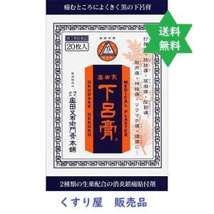 下呂膏 20枚入り・炎症鎮痛の張り薬・膏薬・送込・漢方【第3...