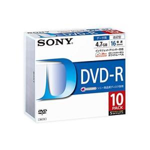 SONY データ用DVD-R 16倍速 5mmケース 10枚パック 10DMR47LLPS|olap