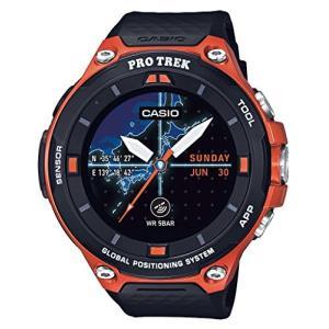 [カシオ]CASIO スマートアウトドアウォッチ プロトレックスマート GPS搭載 WSD-F20-RG メンズ|olap