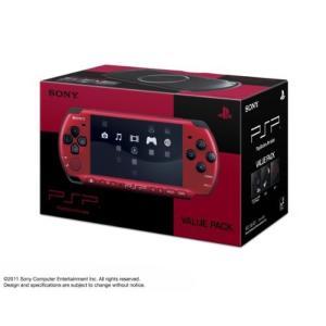 PSP「プレイステーション・ポータブル」 バリュー・パック レッド/ブラック (PSPJ-30026)【メーカー生産終了】 中古 olap