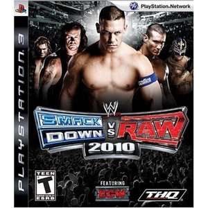 WWE 2010 Smackdown vs Raw - PS3 中古