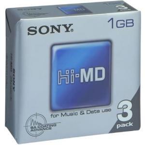 ソニー Hi-MDメディア 1GB3枚パック 3HMD1GA