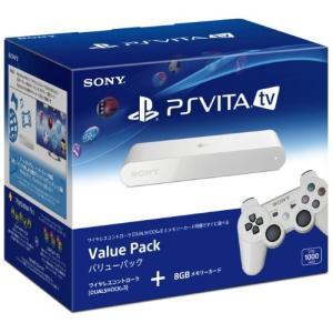 PlayStation Vita TV Value Pack (VTE-1000AA01) 【メーカー生産終了】 中古|olap