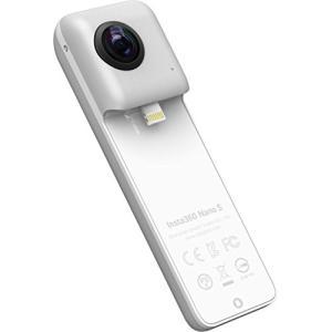 Insta360 Nano S Silver 360度カメラ 4Kビデオ iPhone X/8/7/...