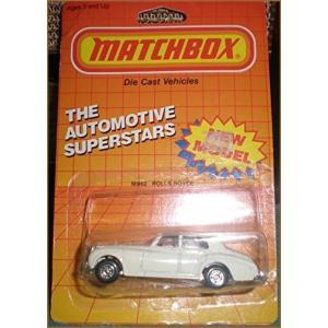 ROLLS ROYCE Matchbox 1986 White Rolls Royce 1:64 S...