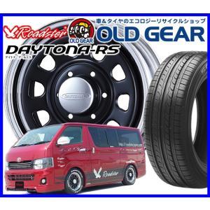 エースロードスター デイトナRS クロームリム/ブラックディスク  Roadster DAYTONA-RS 215/65R16 215/65-16 新品特選輸入タイヤ oldgear