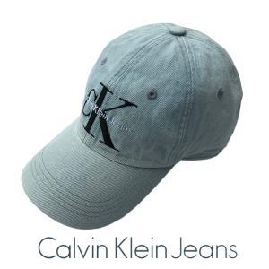Calvin Klein Jeans  ロゴ デニム キャップ LOGO HAT-ICE BLUE ole2014